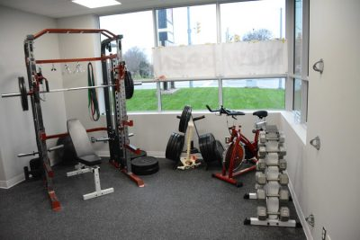 Personal Training room at Cornerstone Therapy & Wellness located in St.Catherine's Ontario.