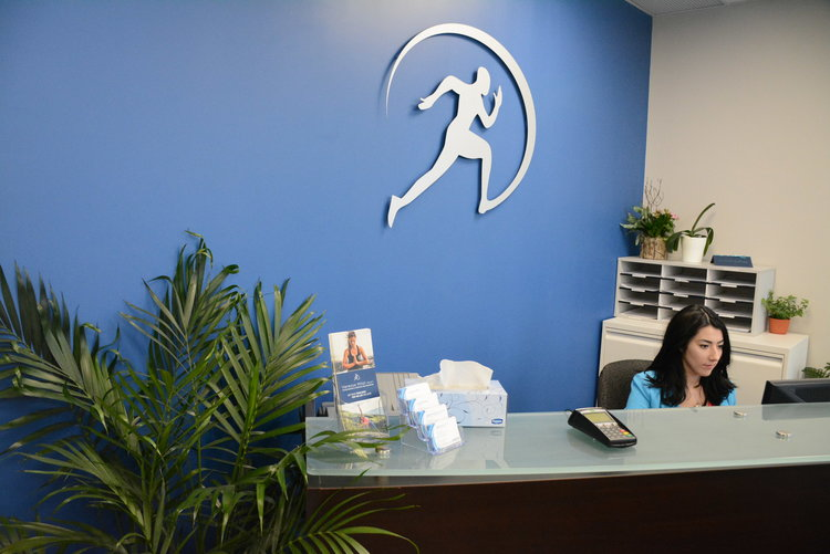 Front Desk at Cornerstone Therapy & Wellness located in St.Catherine's Ontario.