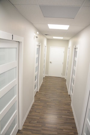 Hallway in Cornerstone Therapy & Wellness located in St.Catherine's Ontario.