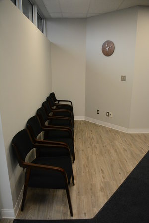 Seating area at Cornerstone Therapy & Wellness located in St.Catherine's Ontario.