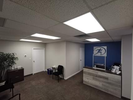 Waiting room Beamsville Cornerstone therapy and Wellness