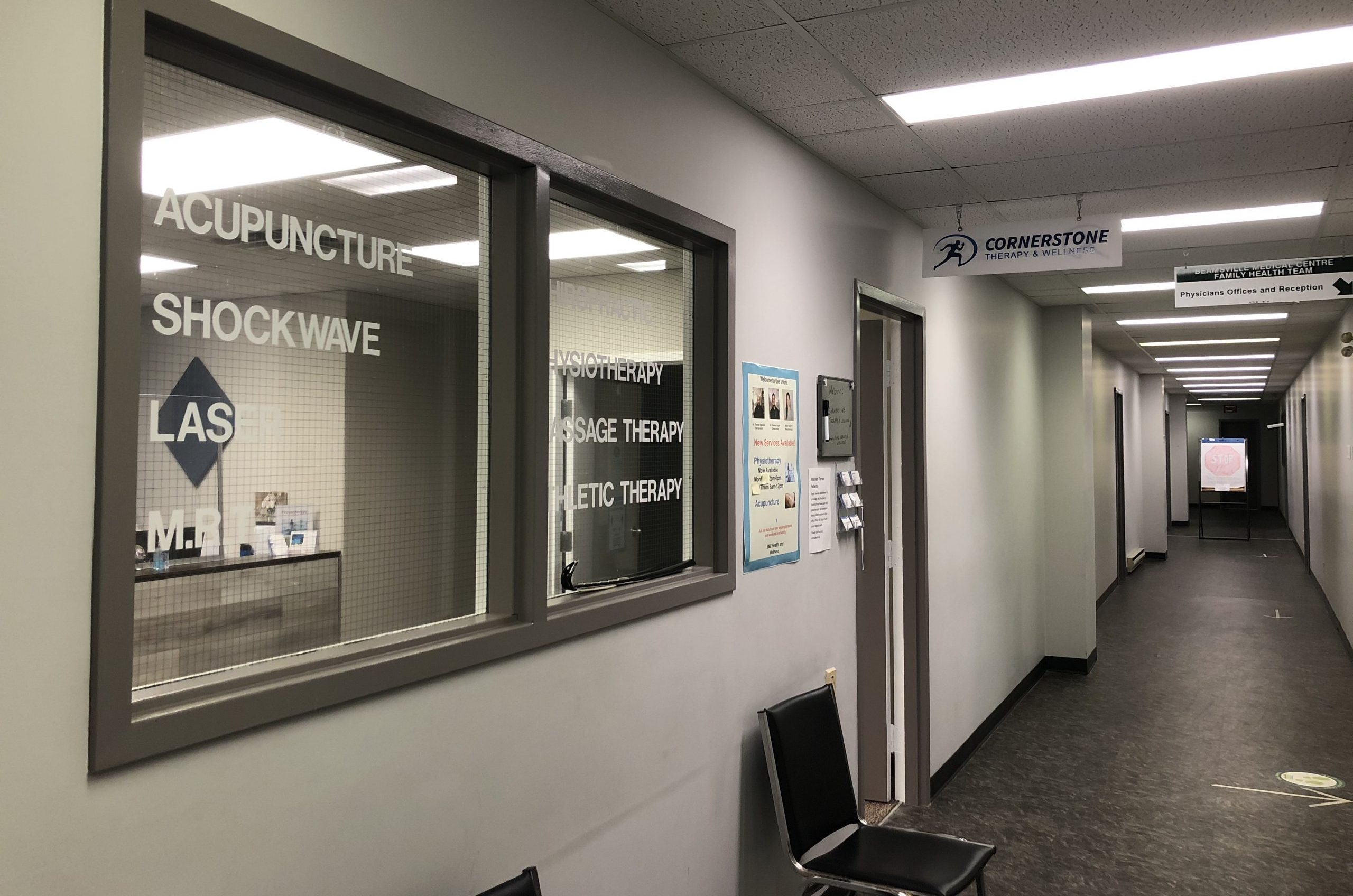 Store Front Beamsville Lower level Beamsville Medical Centre